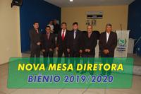 Nova Mesa Diretora Biênio 2019/2020